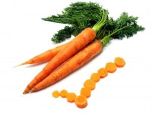 morötter, betakaroten och soleksem